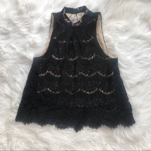 Lace Overlay Nordstrom Top